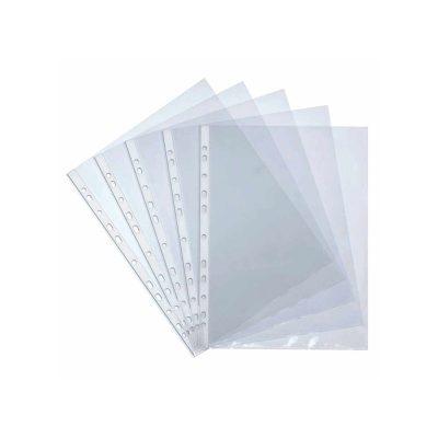 Paquet de 100 Pochettes Perforées ATLAS A4 80 MICRONS
