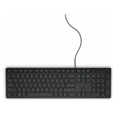 Clavier Dell KB216 USB Noir - Français (AZERTY) (580-ADGU)